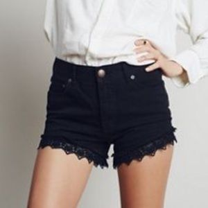 Free People | Lacey Denim Cut Off Shorts